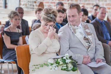 Trauzeremonie in der Kirche in der Uckermark